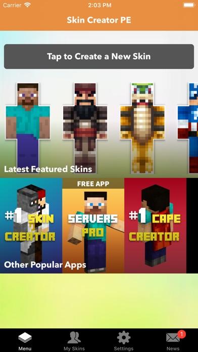 Skin Creator PE For Minecraft Revenue Download Estimates Apple - Skin para minecraft pe de kirito