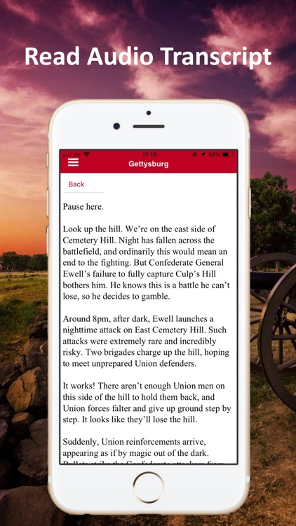 Gettysburg Battle Auto Tour screenshot-5