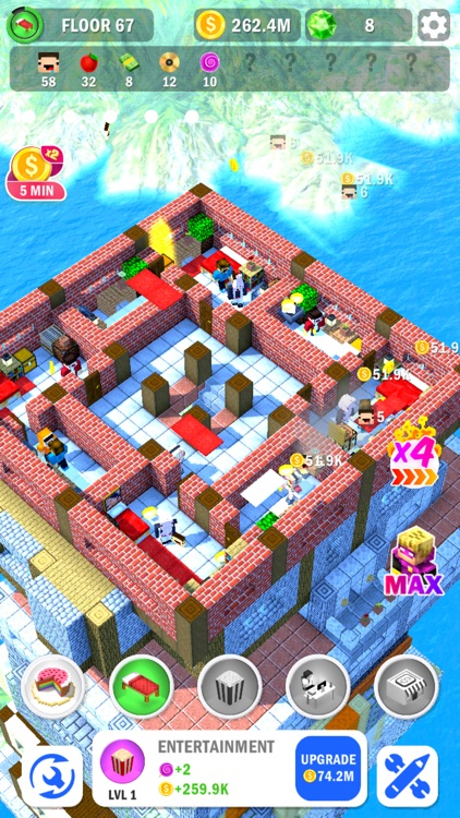 Tower Craft 3D - Idle Building screenshot-4