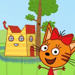 Три Кота - Кукольный домик на пк