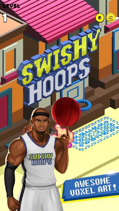Swishy Hoops! Screenshot 1
