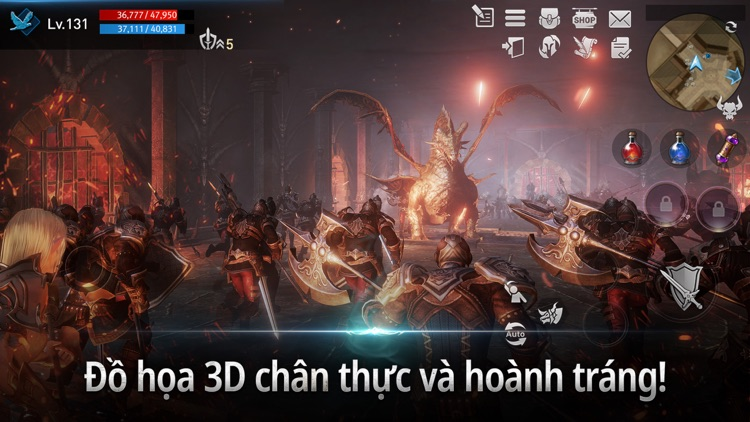 Lineage2 Revolution Vietnam screenshot-4