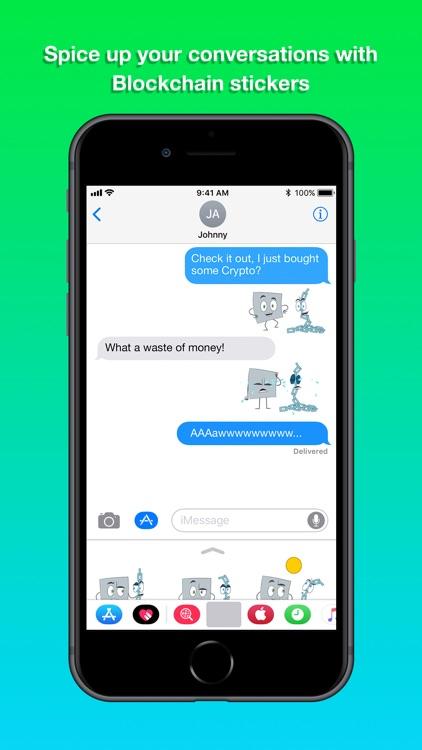Blockchain Stickers screenshot-3