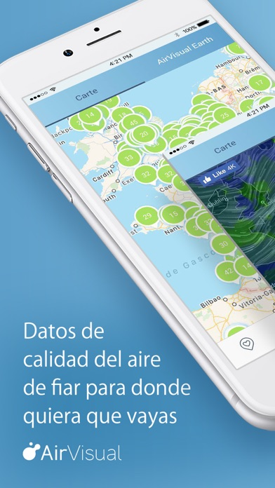 Screenshot for Calidad del Aire | AirVisual in Dominican Republic App Store
