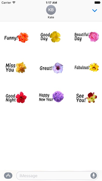 Animated Cute Flower Greetings screenshot 2
