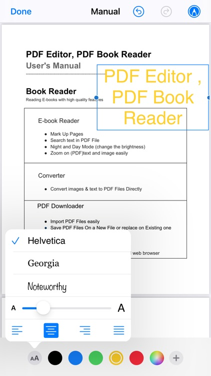 PDF Editor ,PDF Book Reader screenshot-3