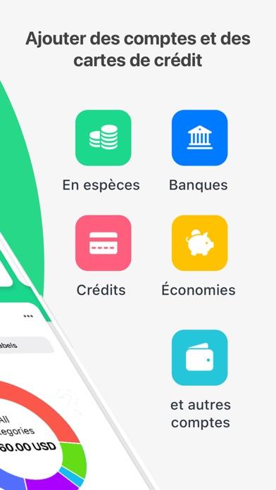 Screenshot #2 pour Wallet - Finances, argent