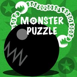 Monster Puzzle Peg-Solitaire