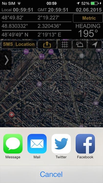 GPS Locations screenshot-3