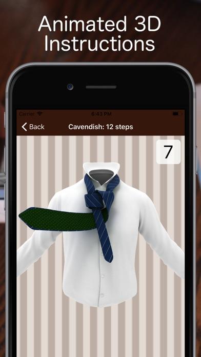 Tie a Necktie 3D Animatedのおすすめ画像1