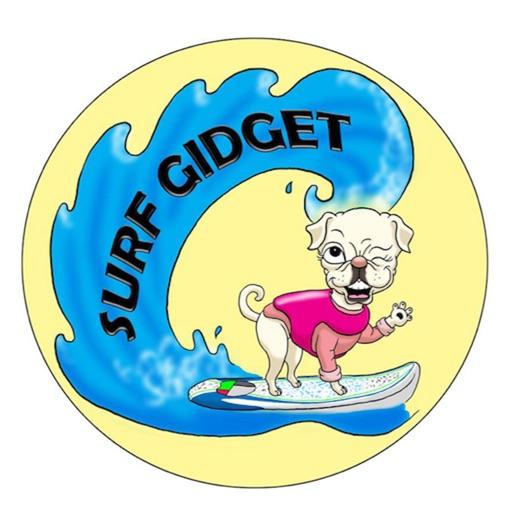 Surf Gidget the Pug