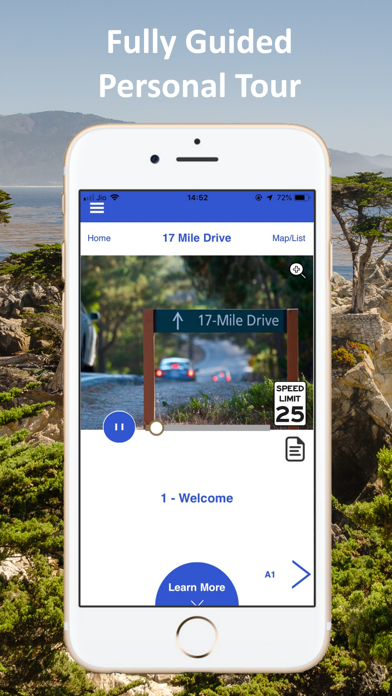 17 Mile Drive Tour Guide Screenshot