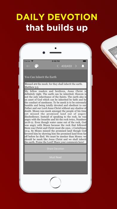 Screenshot for KJV Bible Offline - Audio KJV in United States App Store