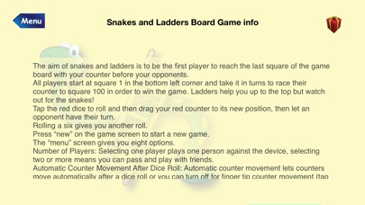 Snakes and Ladders Board Game Screenshots