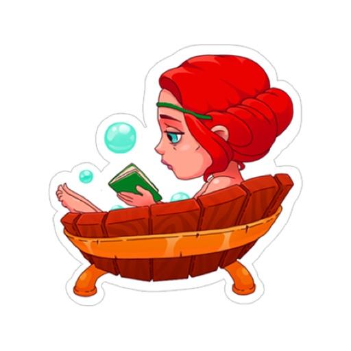 Fun Red Girl