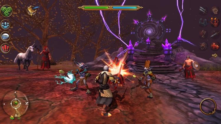 3D MMO Celtic Heroes screenshot-3