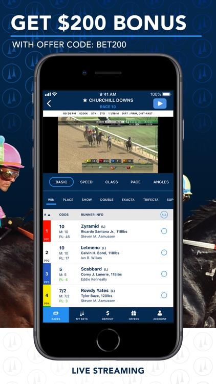 TwinSpires Horse Race Betting screenshot-0