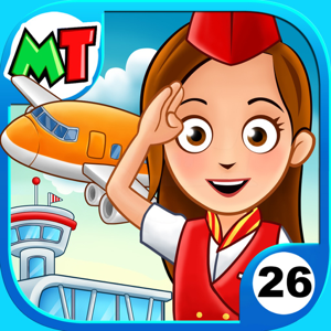 My Town : Airport app