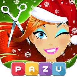 Girls Hair Salon Christmas