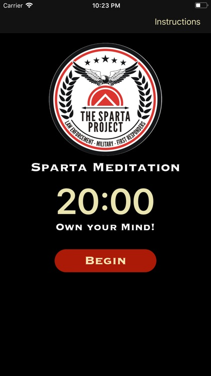 Sparta Meditation screenshot-0