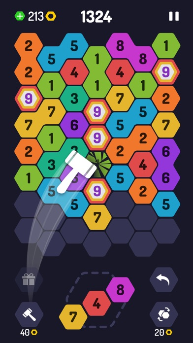 UP 9 - Hexa Puzzle! screenshot 4