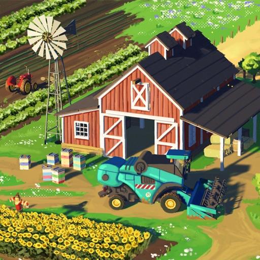 Большая ферма: мобильный урожа