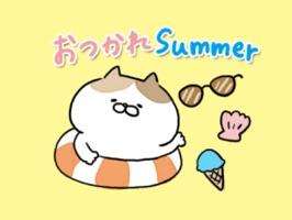 夏のダジャレステッカー