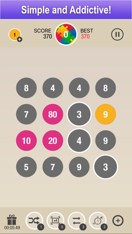 Puzzle 10 - Merge Numbers screenshot-0