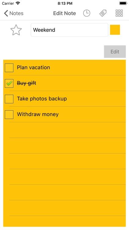 Notezilla - Notes & Reminders screenshot-3