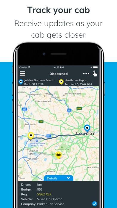 Cab Guru – Book your local cab screenshot four
