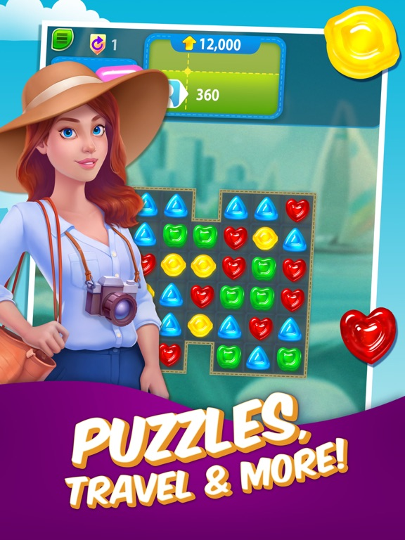 Gummy Drop! – A Match 3 Game iPad