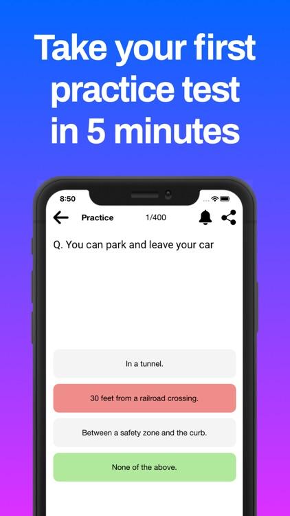 DMV Practice Test 2021 screenshot-5