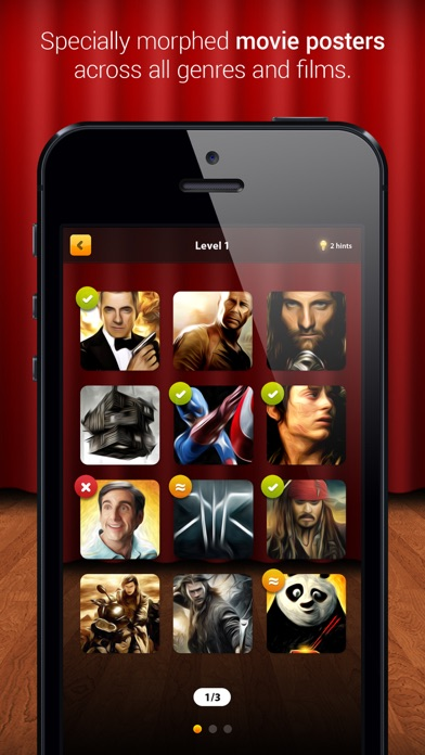 Guess the Movie Game -Holywood Screenshot on iOS