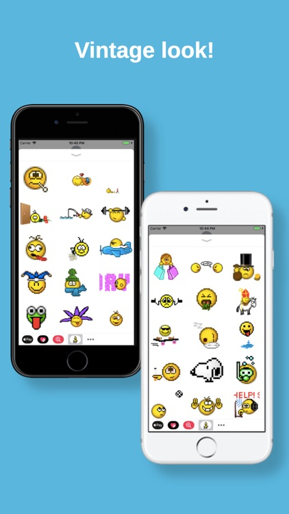 Retro Smileys Sticker Pack screenshot-3