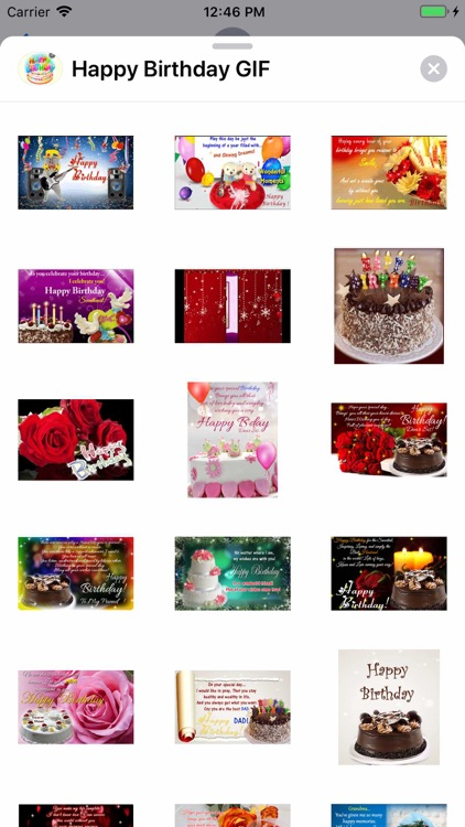 Happy Birthday GIF screenshot-9