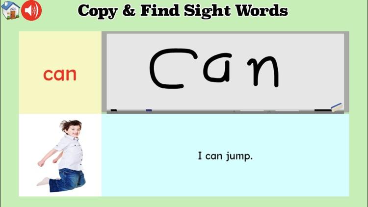 Sight Words Games & Activities screenshot-5