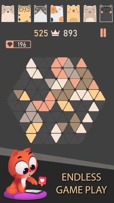 Trigon : Triangle Block Puzzle Screenshot 4