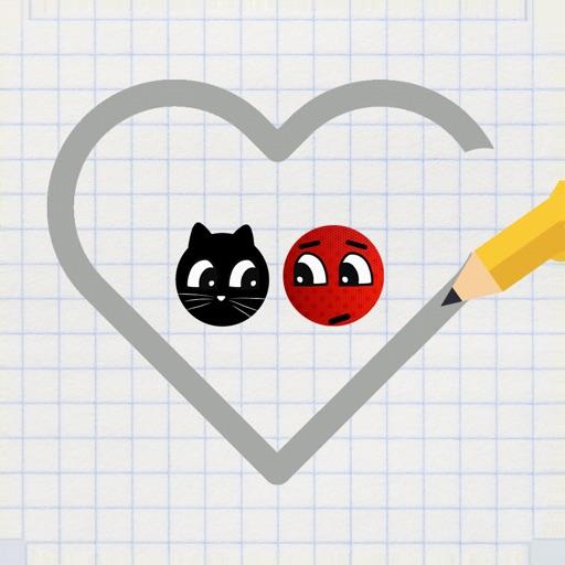 Love balls : ladybug and cat