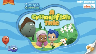 Screenshot for Bubble Guppies: Grumpfish in United States App Store