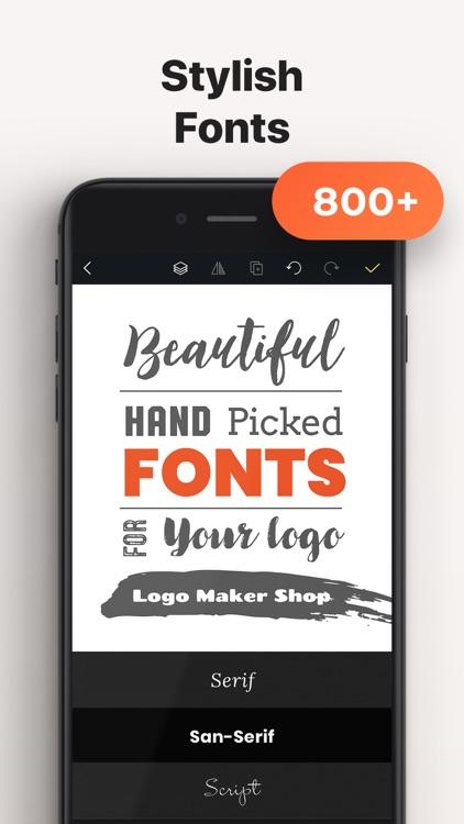 Logo Maker Shop:Design Creator screenshot-6