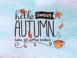 Autumn Love - Coffee & Quotes