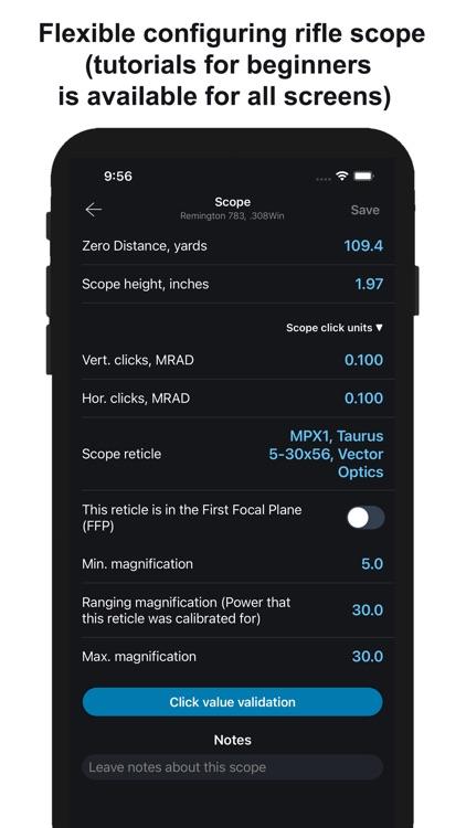 Chairgun Elite Ballistic Tool screenshot-8