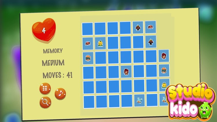 Tocca Vacation Match Puzzle