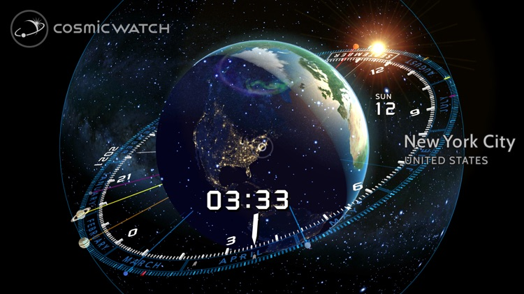 Cosmic-Watch screenshot-0