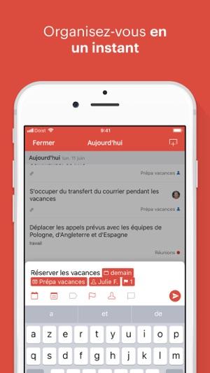 Todoist : Organisez votre vie Capture d'écran