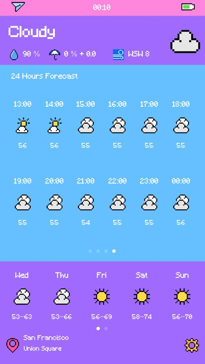 Pixel Weather - Forecast screenshot-4