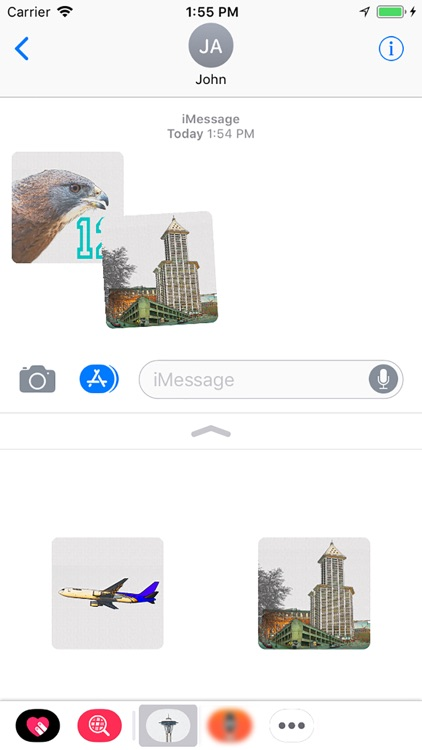 Seattle Stickies for iMessage screenshot-6