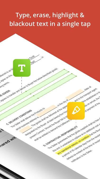PDFfiller: Edit and eSign PDFs screenshot-6