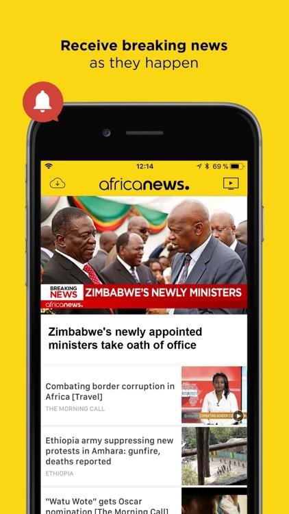 Africanews - News in Africa screenshot-3
