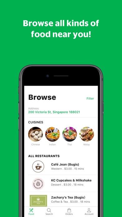 GrabFood - Food Delivery App for Windows